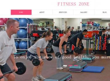 红色健身房运动网站
