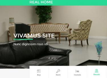 绿色家居建筑企业网站