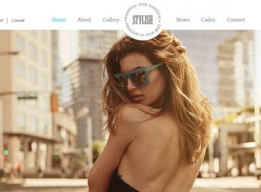 时尚品牌网站