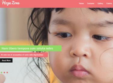 彩色公益活动网站